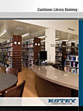Estey Cantilevered Library Shelving brochure